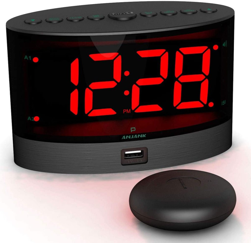 anjank extra loud alarm shaker