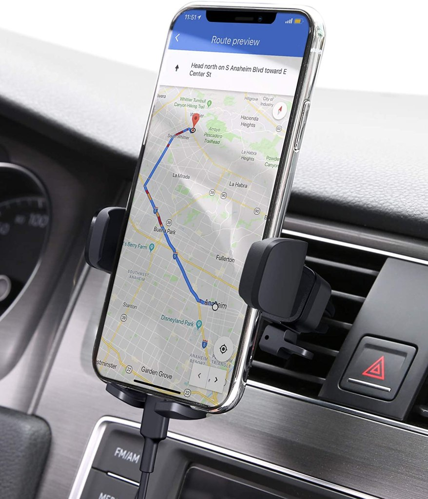 aukey phone car mount