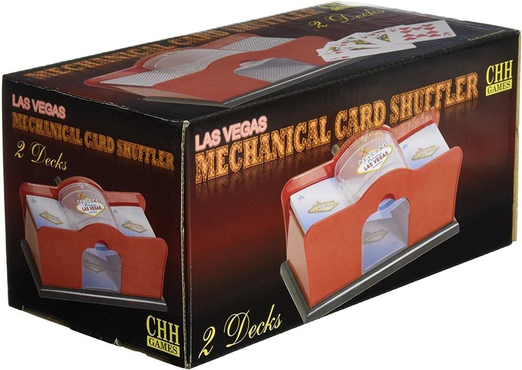 hand crank card shuffler