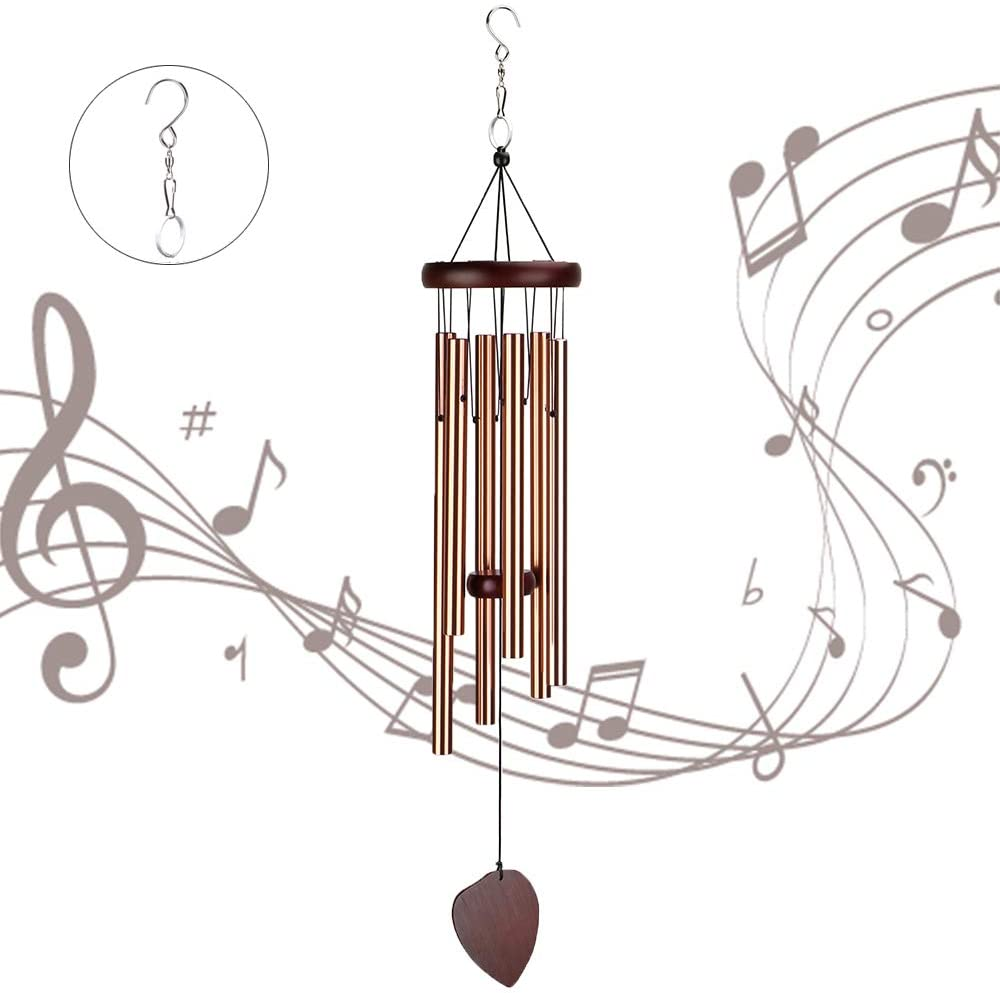 handmade wooden wind chimes