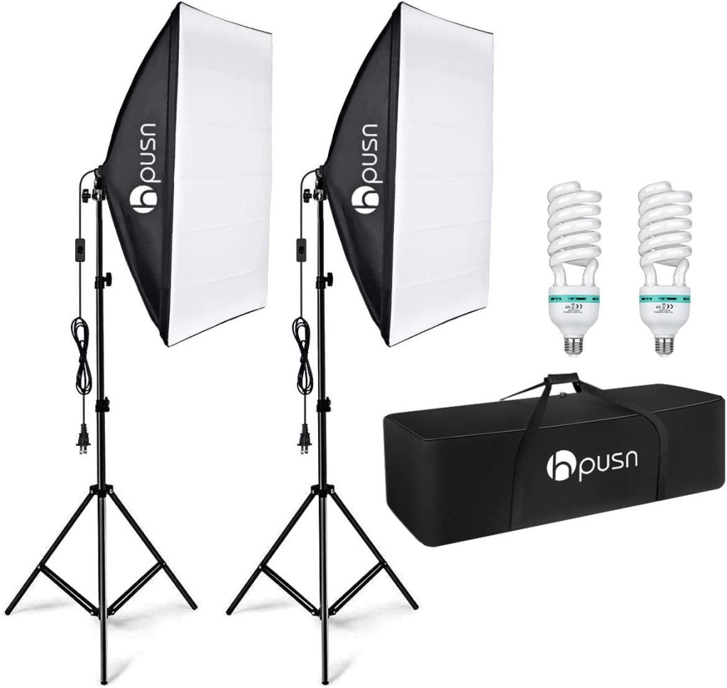 hpusn softbox continuous lighting photography
