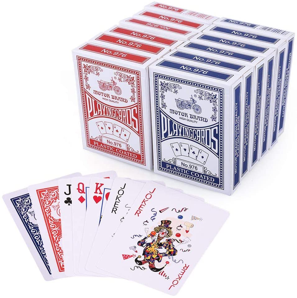 lotfancy playing cards 12 deck