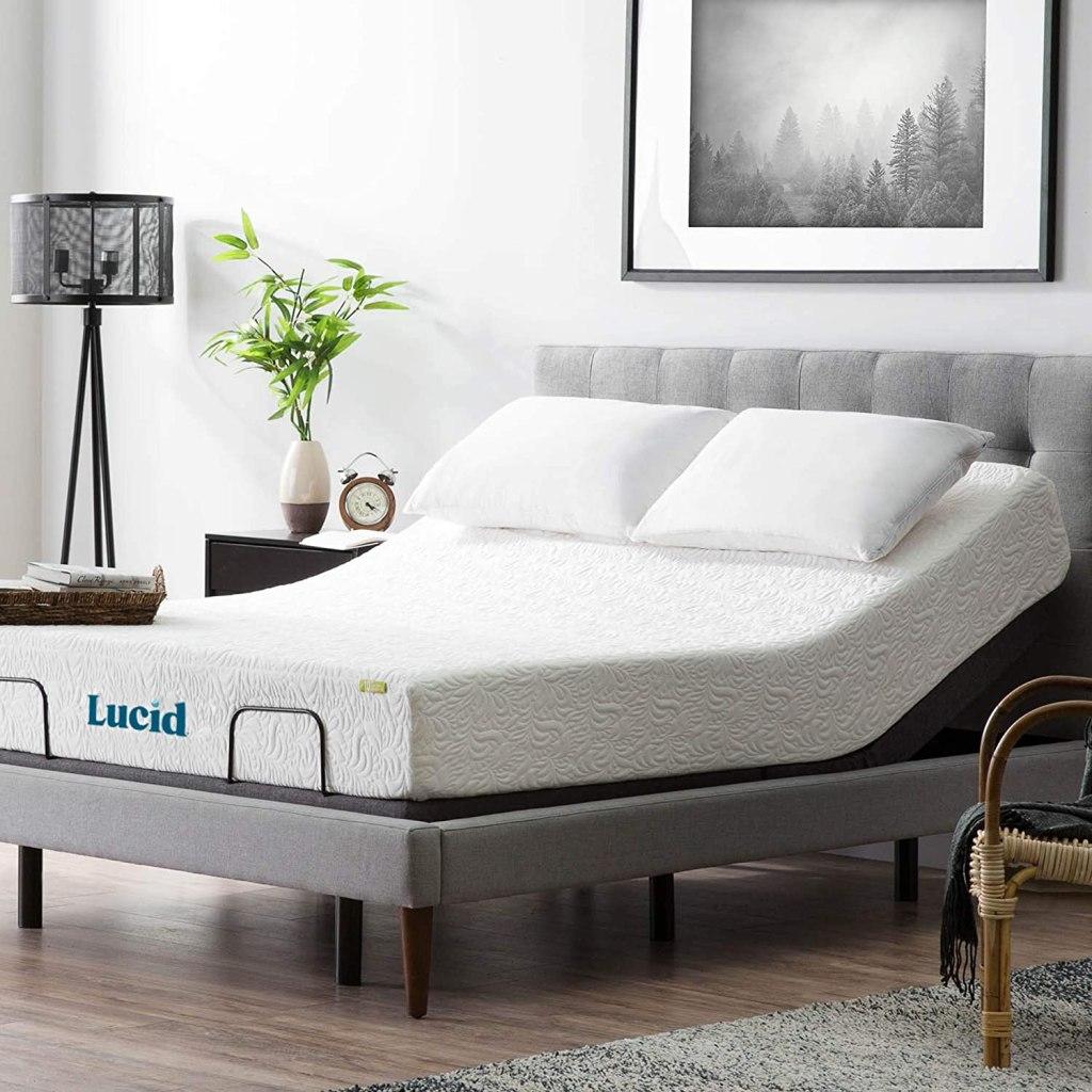 lucid bed base adjustable