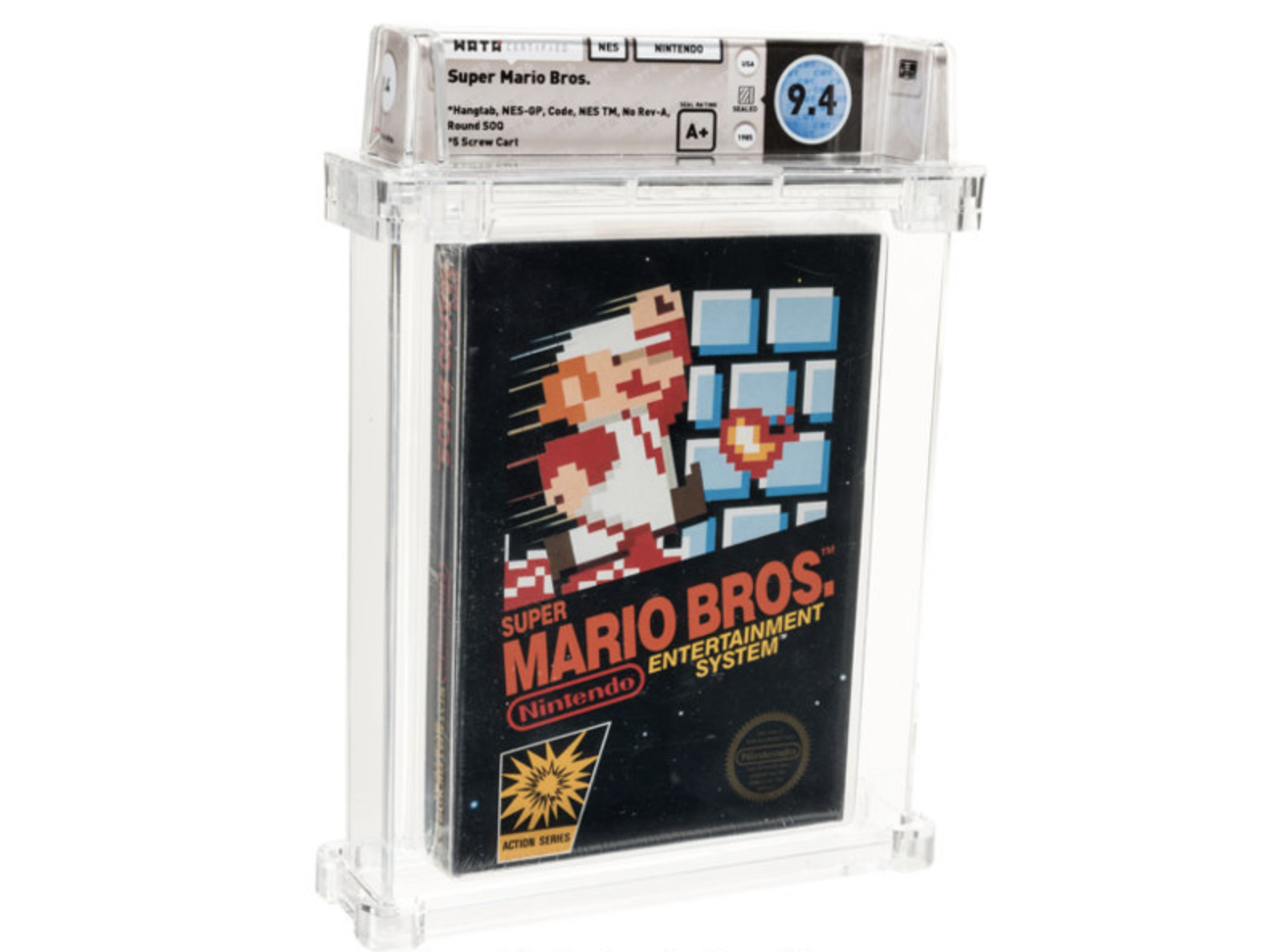 Sealed Copy of 'Super Mario Bros.' Sells for $114,000 at Auction thumbnail