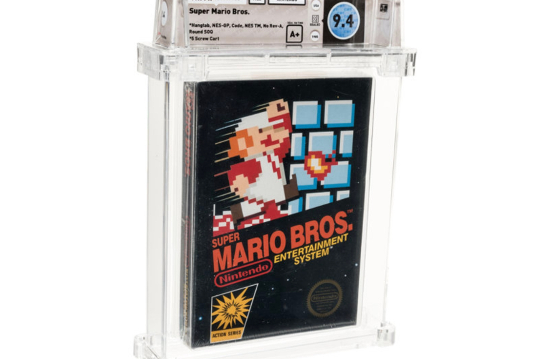 Sealed Copy Of Super Mario Bros Sells For 114 000 At Auction