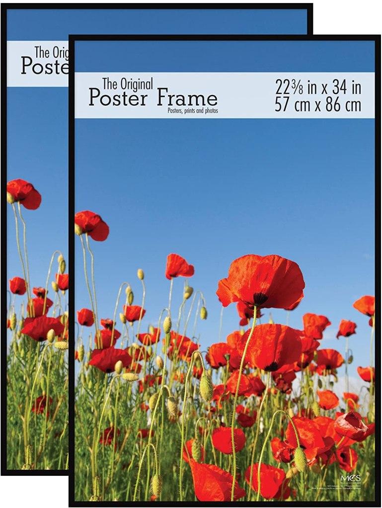 mcs original poster frame
