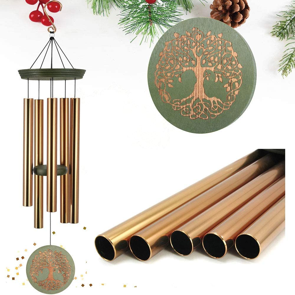 outdoor deep tone wind chimes