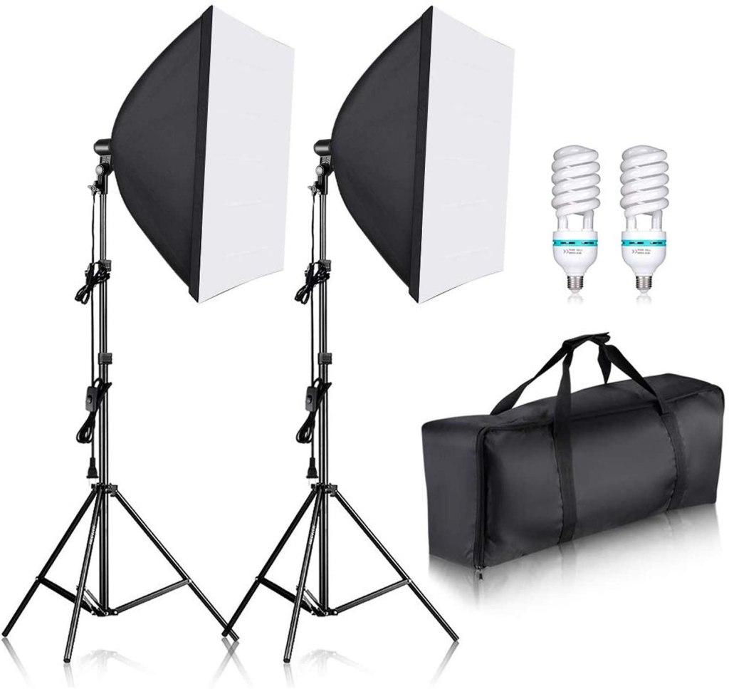 professional photography softbox socket light