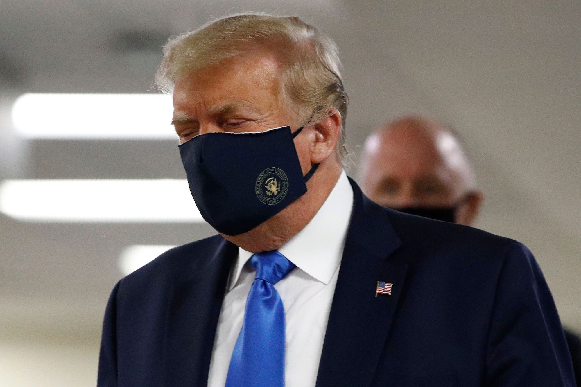 rollingstone.com - Peter Wade - Trump Wore a Mask. Sadly This Is News