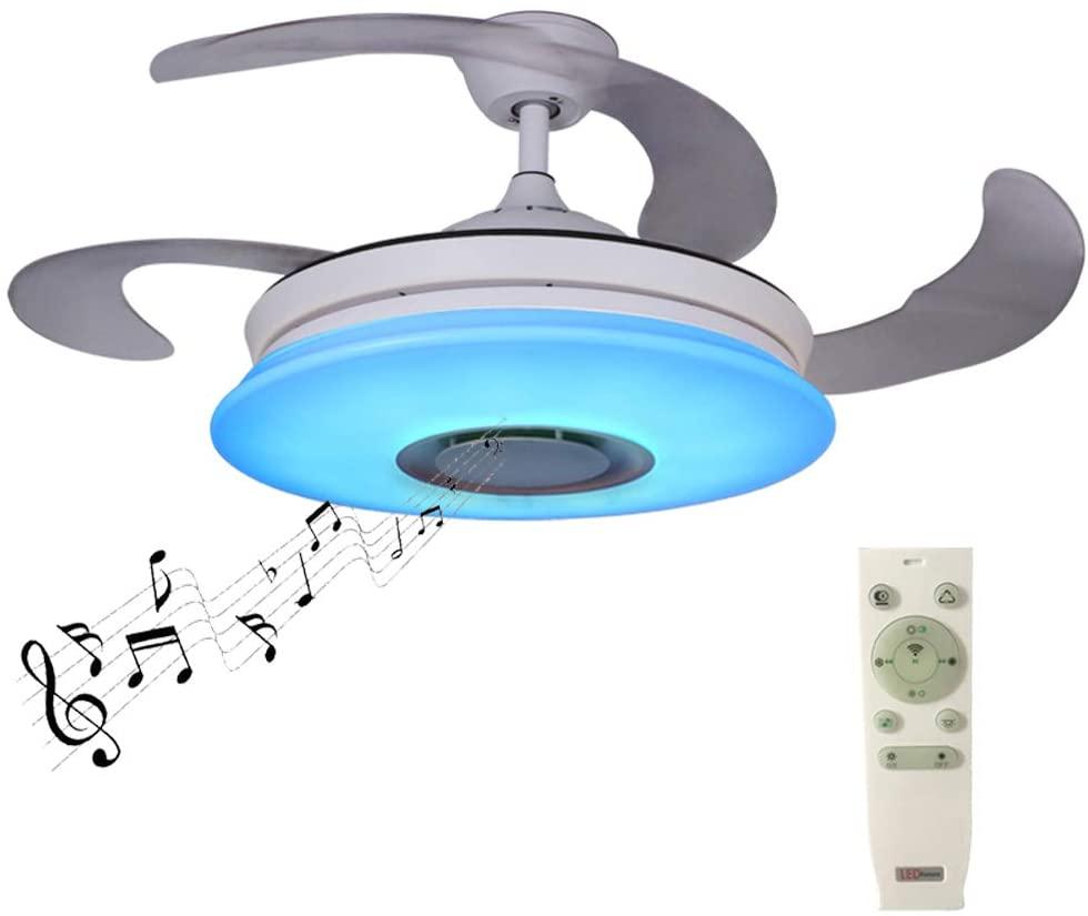 smart ceiling fan lights bluetooth