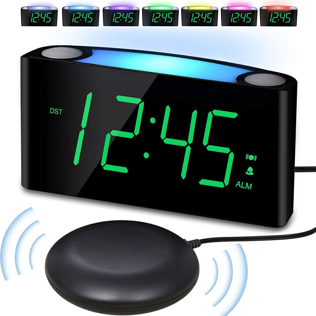 vibrating alarm clock heavy shaker