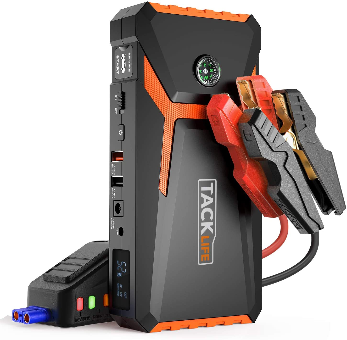 TACKLIFE 18000mAh Car Jump Starter