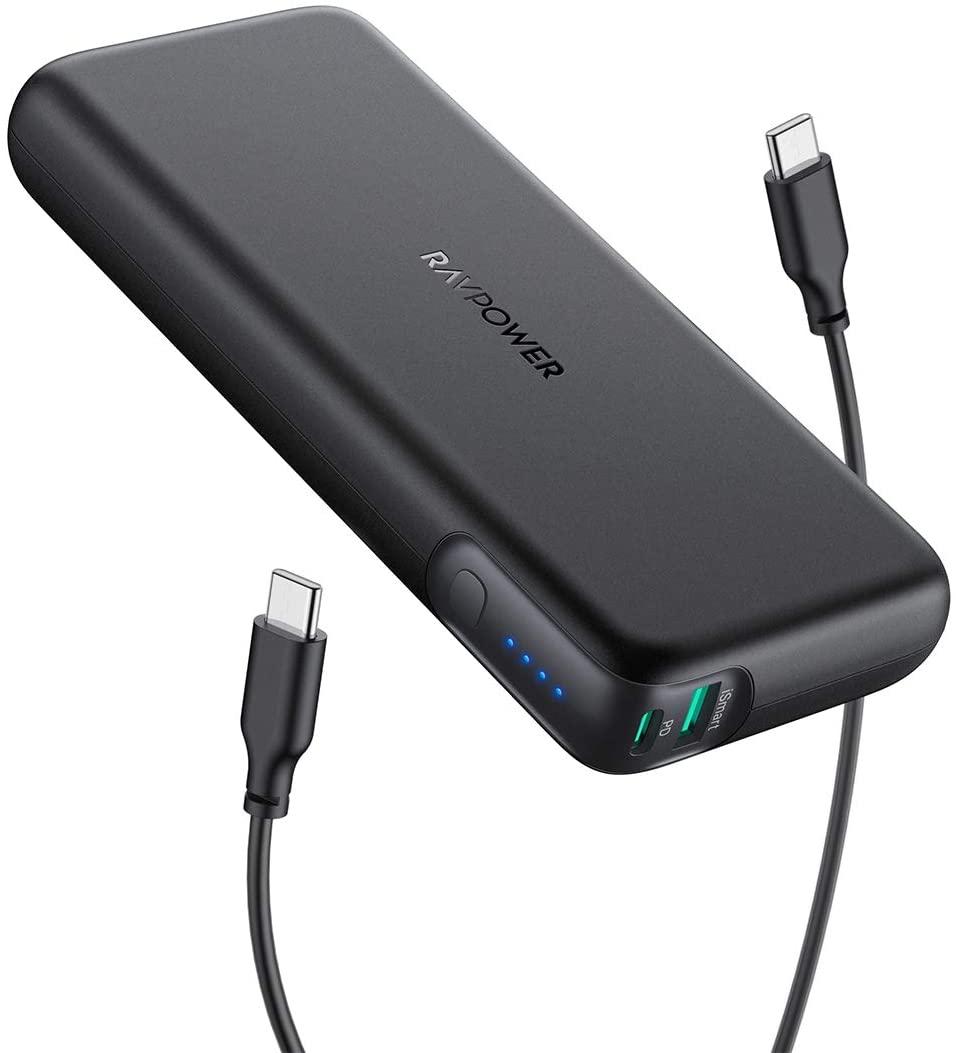 RAVPower 20000mAh 60W Battery Pack