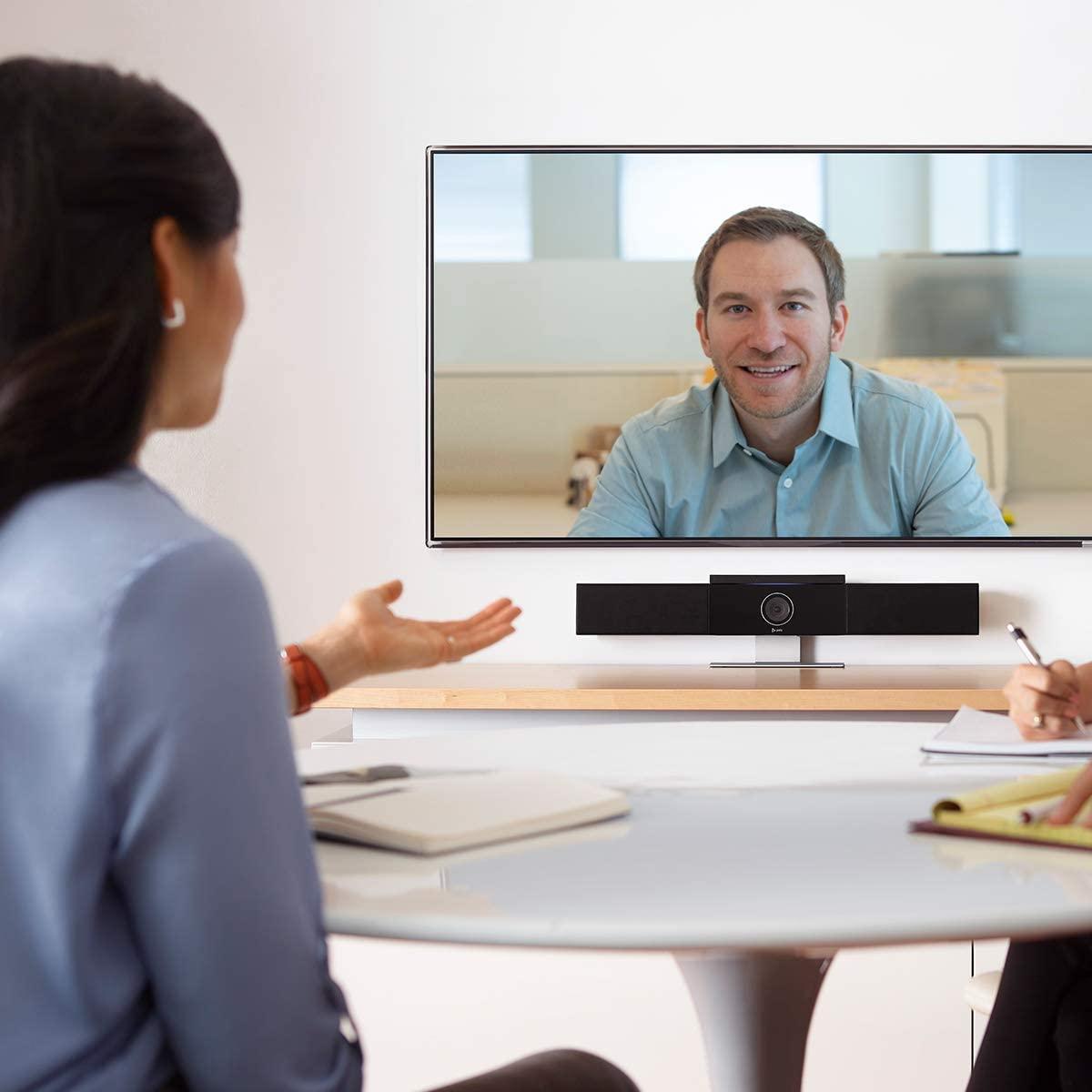 meeting video set speakers microphone