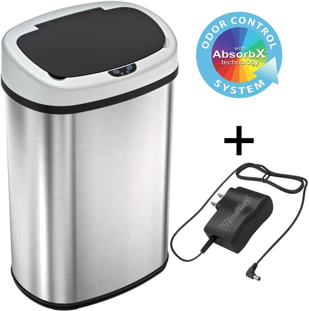 automatic garbage can reviews