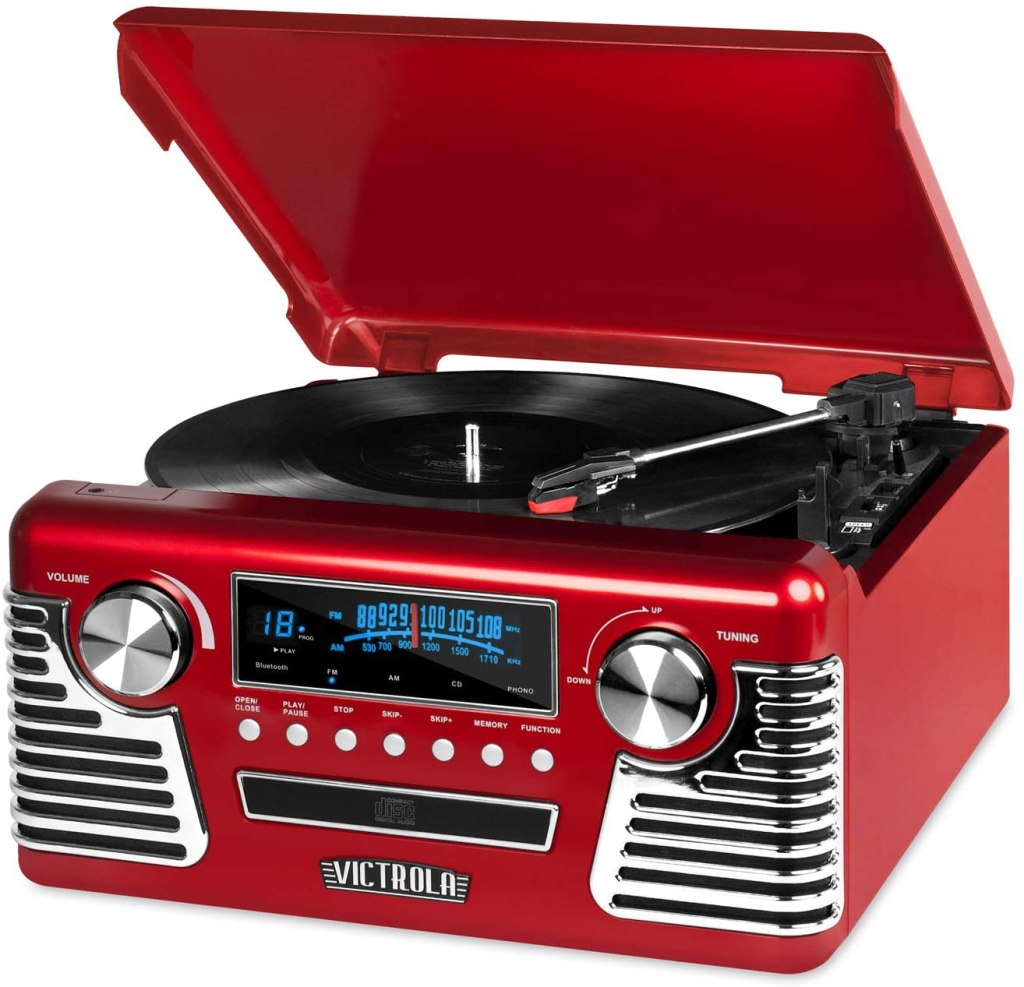Best Retro Turntables 2021 Vintage Inspired Record Players Suitcase Rolling Stone