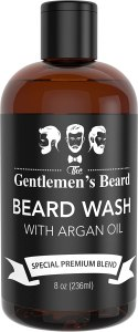 beard wash argan oil shampoo