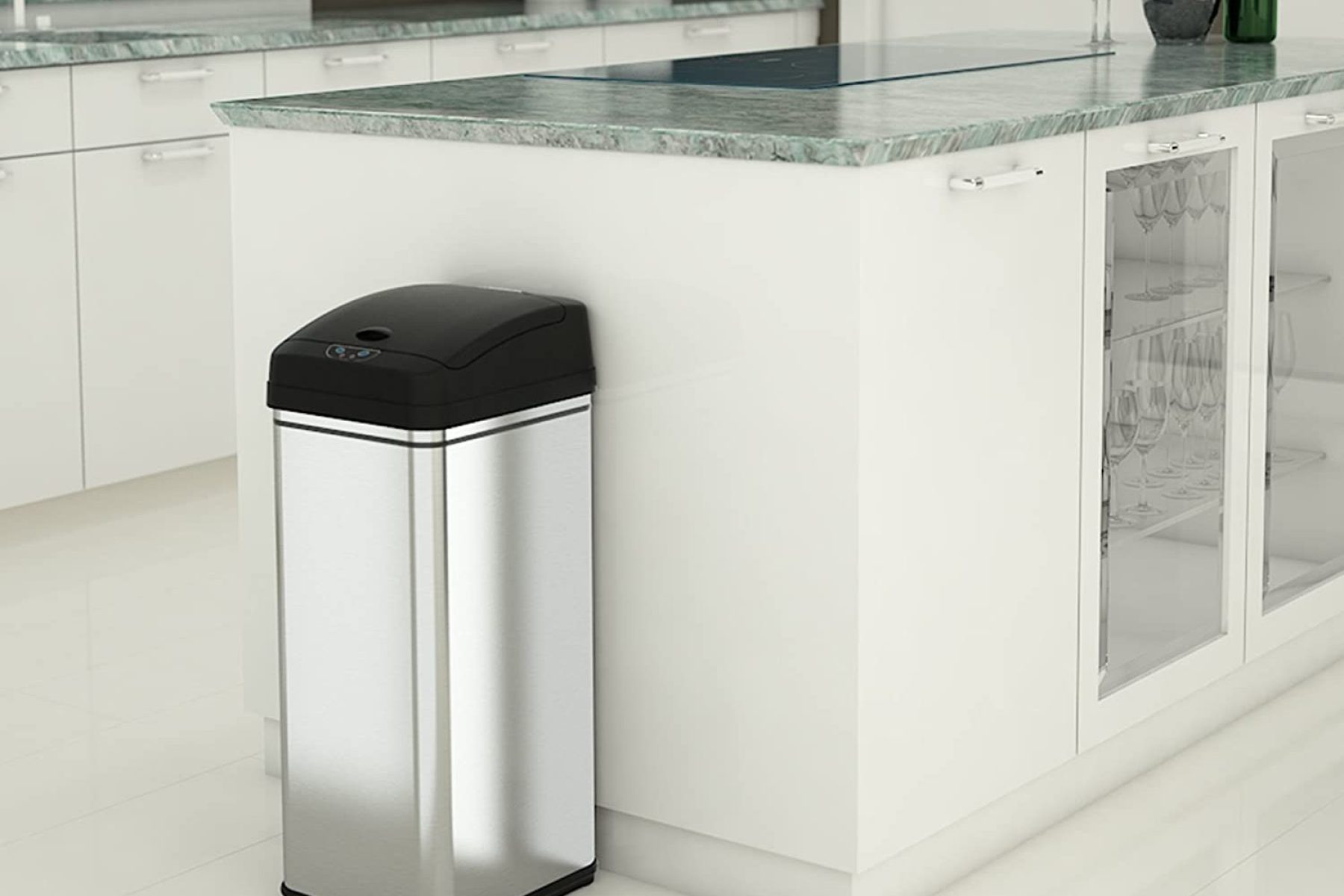 Best Touchless Trash Can Cdc Recommended Garbage Can Covid Prevention Rolling Stone