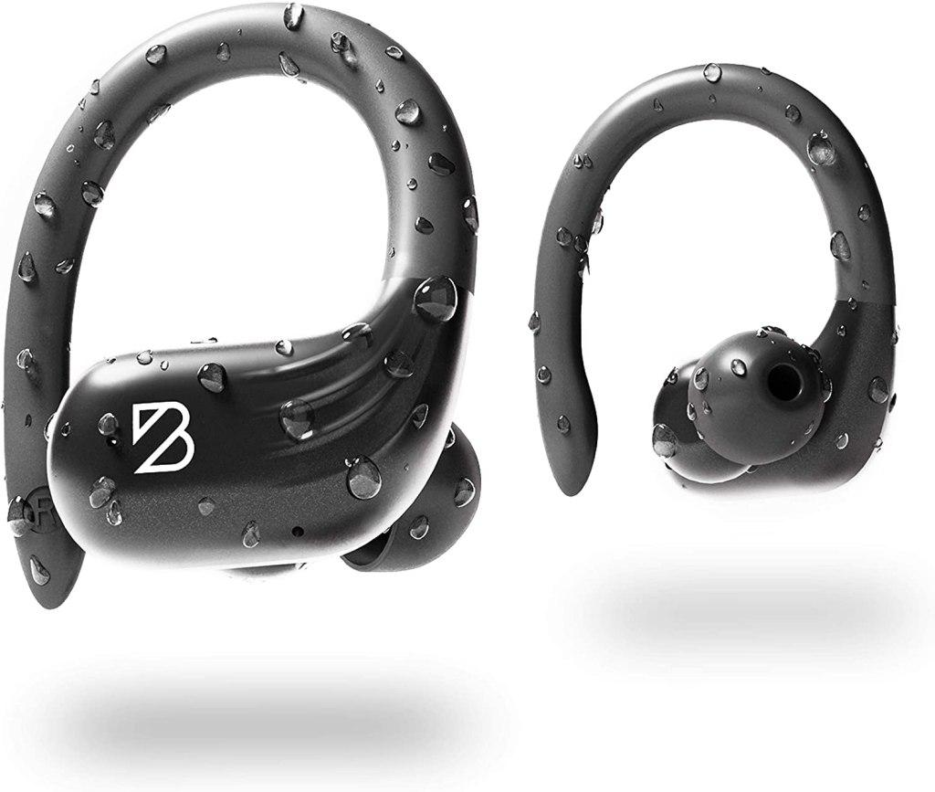 Runner 60 Waterproof Wireless Earbuds with Ear Hooks
