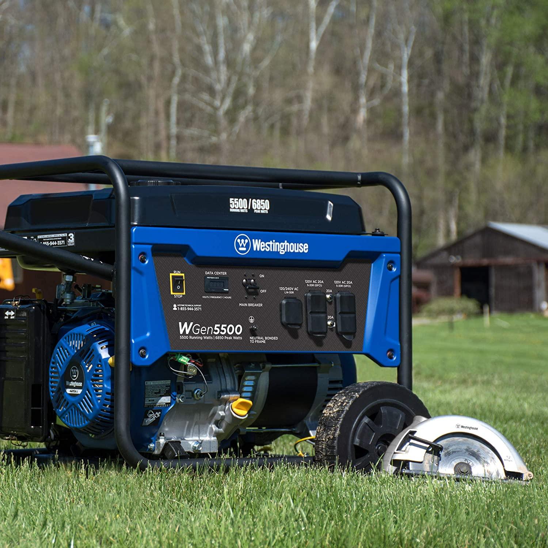 portable power generator westinghouse