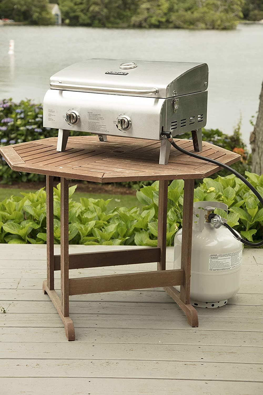 Portable grill propane cuisinart