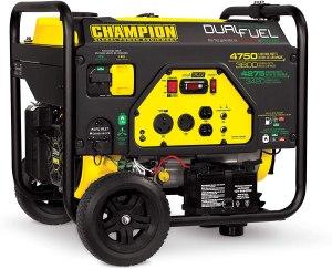emergency generator champion gas propane