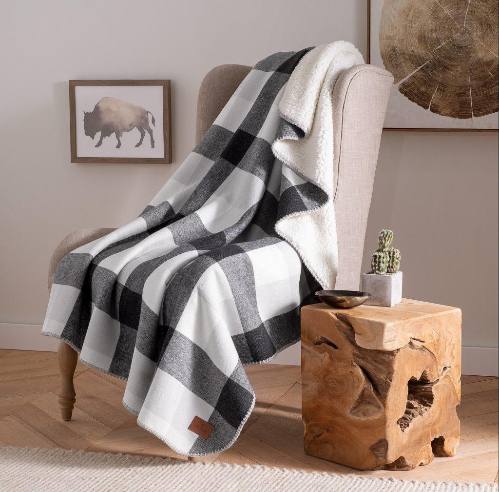 plaid blanket pendleton