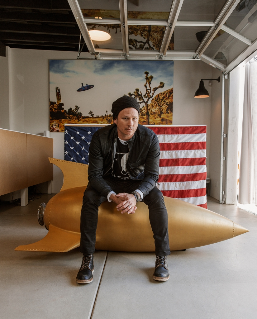 Tom Delonge at the To the Stars Academy offices in March of 2016.