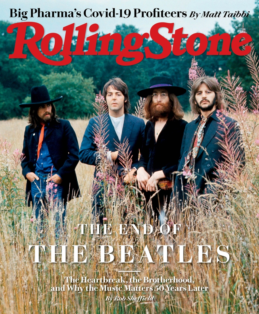 Rolling Stone Cover Page