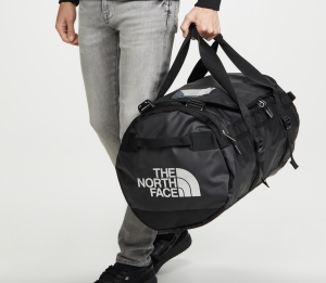 black duffel bag north face