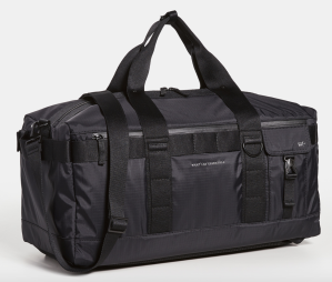 black duffel bag men's