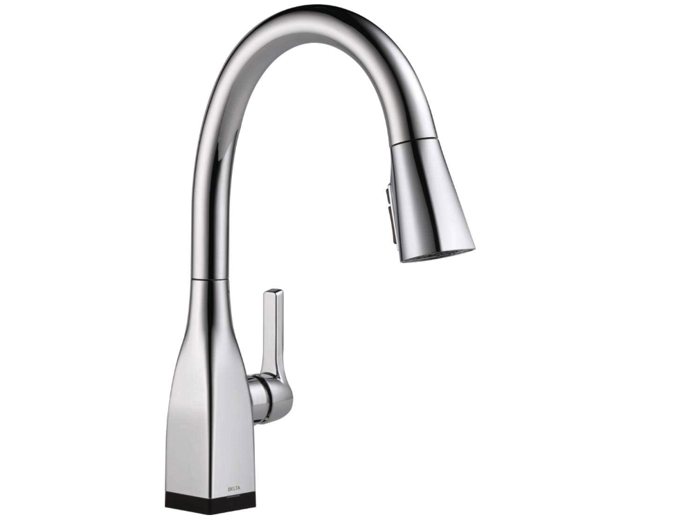 Delta Faucet Mateo VoiceIQ Single-Handle Touch Kitchen Sink Faucet