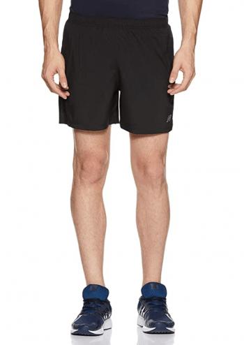black running shorts men's new balance