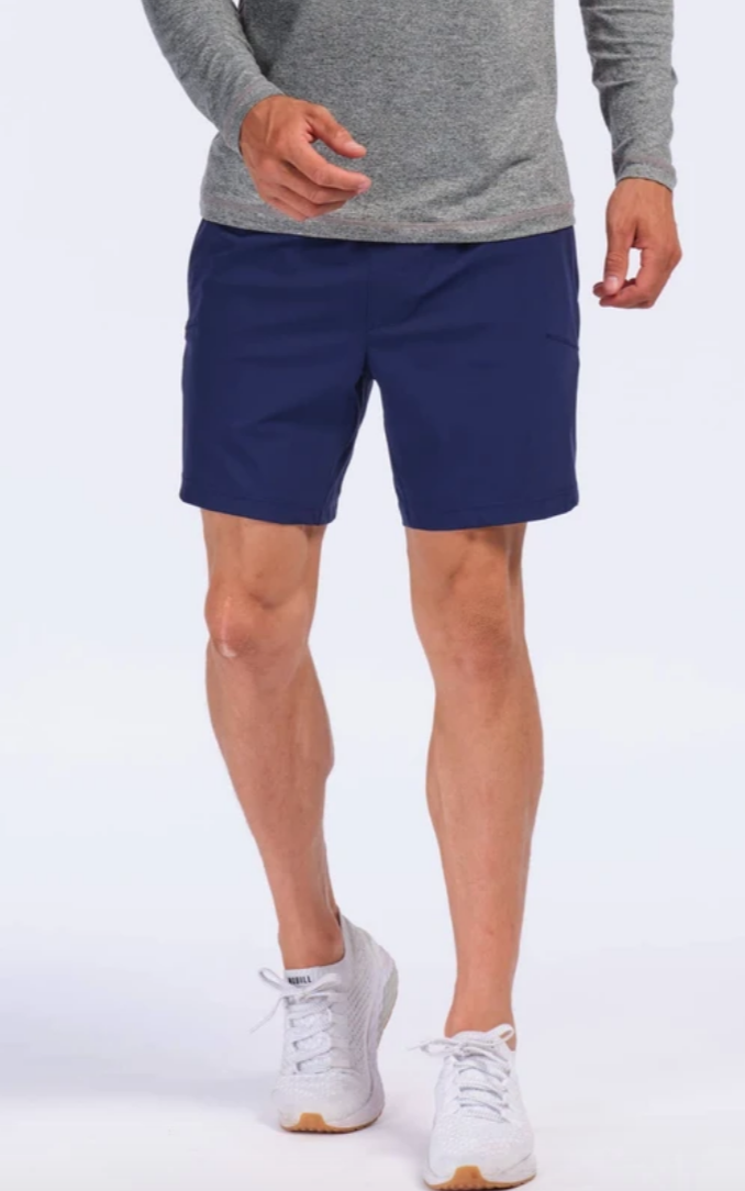 blue gym shorts rhone