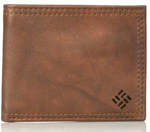 brown leather wallet men's