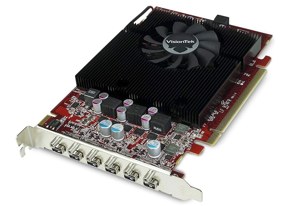 VisionTek Radeon 7750 2GB GDDR5 6 4k Monitor Graphics Card