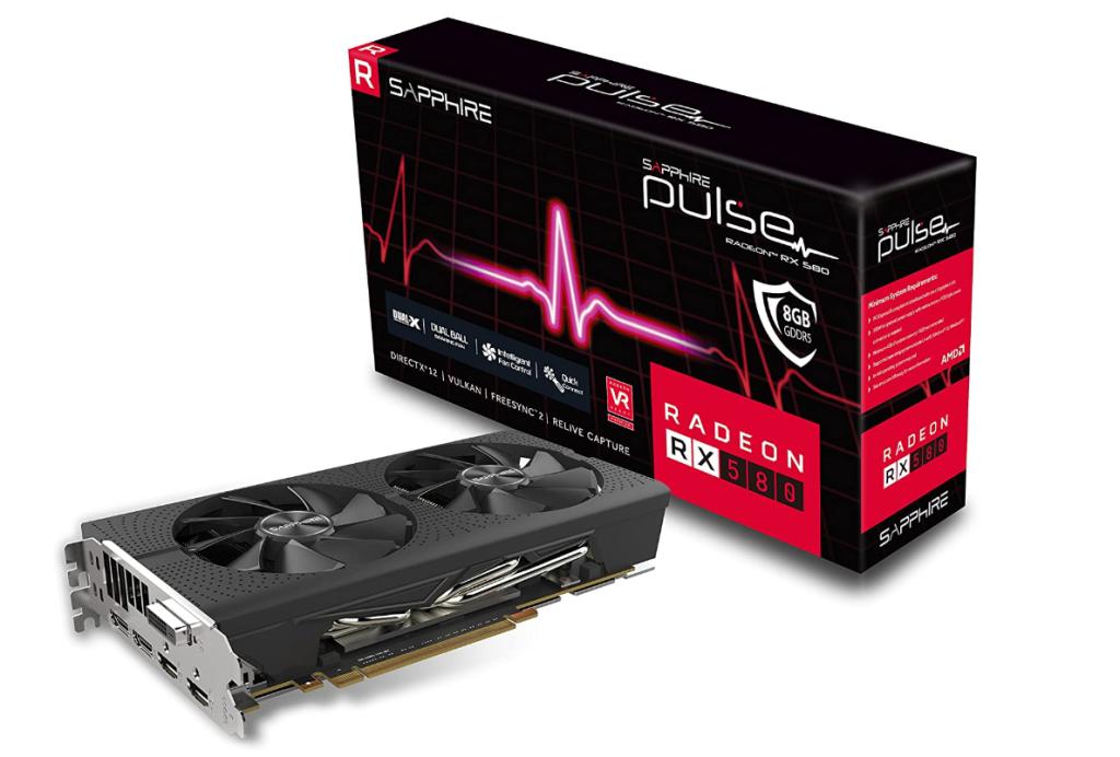Sapphire Radeon 11265-05-20G PULSE RX 580 8GB GDDR5