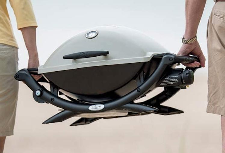 portable grill weber