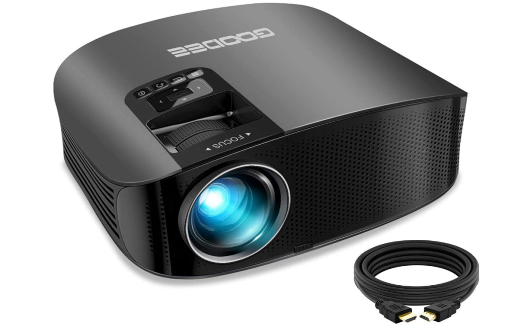 GooDee 2020 Upgrade HD Video Projector