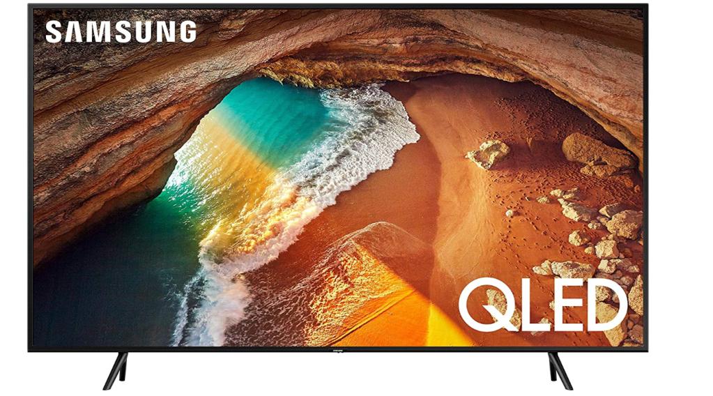 "Samsung QN65Q60RAFXZA Flat 65"" QLED 4K Q60 Series (2019)"