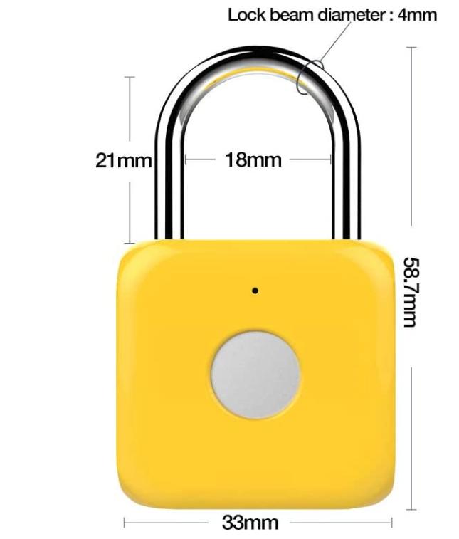 eLinkSmart Fingerprint Padlock
