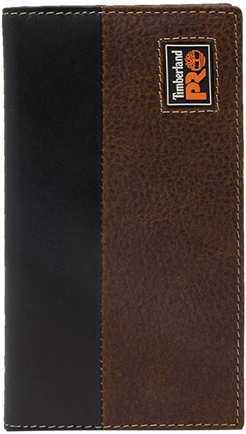 Timberland PRO Men's Leather Long Bifold Rodeo Wallet