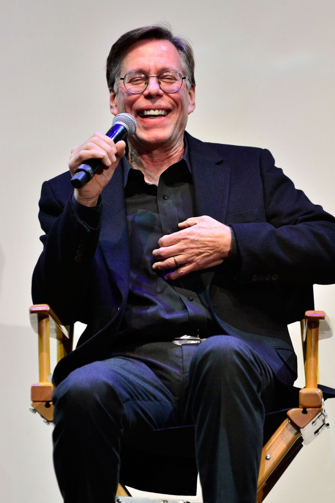 DECEMBER 03 - LOS ANGELES: Bob Lazar answers questions during a q&a session at Los Angeles Special Screening Of Documentary 'Bob Lazar: Area 51 & Flying Saucers' at Ace Hotel on December 3, 2018 in Los Angeles, California. (Photo by Jerod Harris/Getty Images)