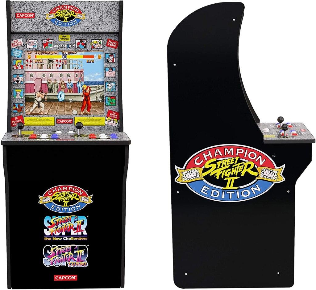 arcade1up street fighter game