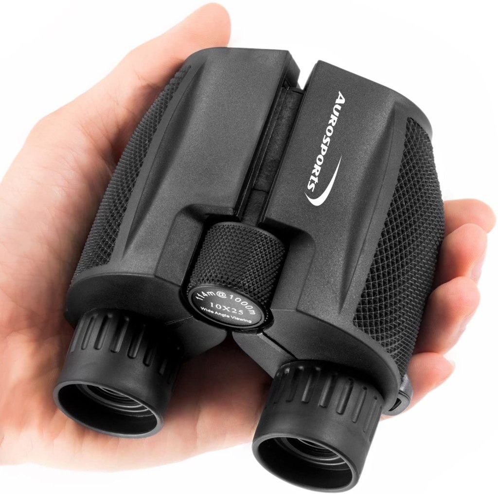 aurosports folding high power binoculars