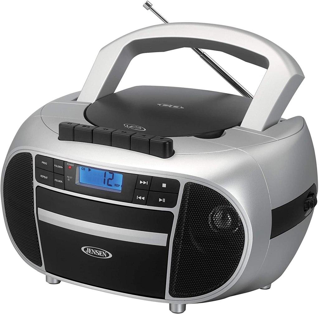 jensen boombox cd player