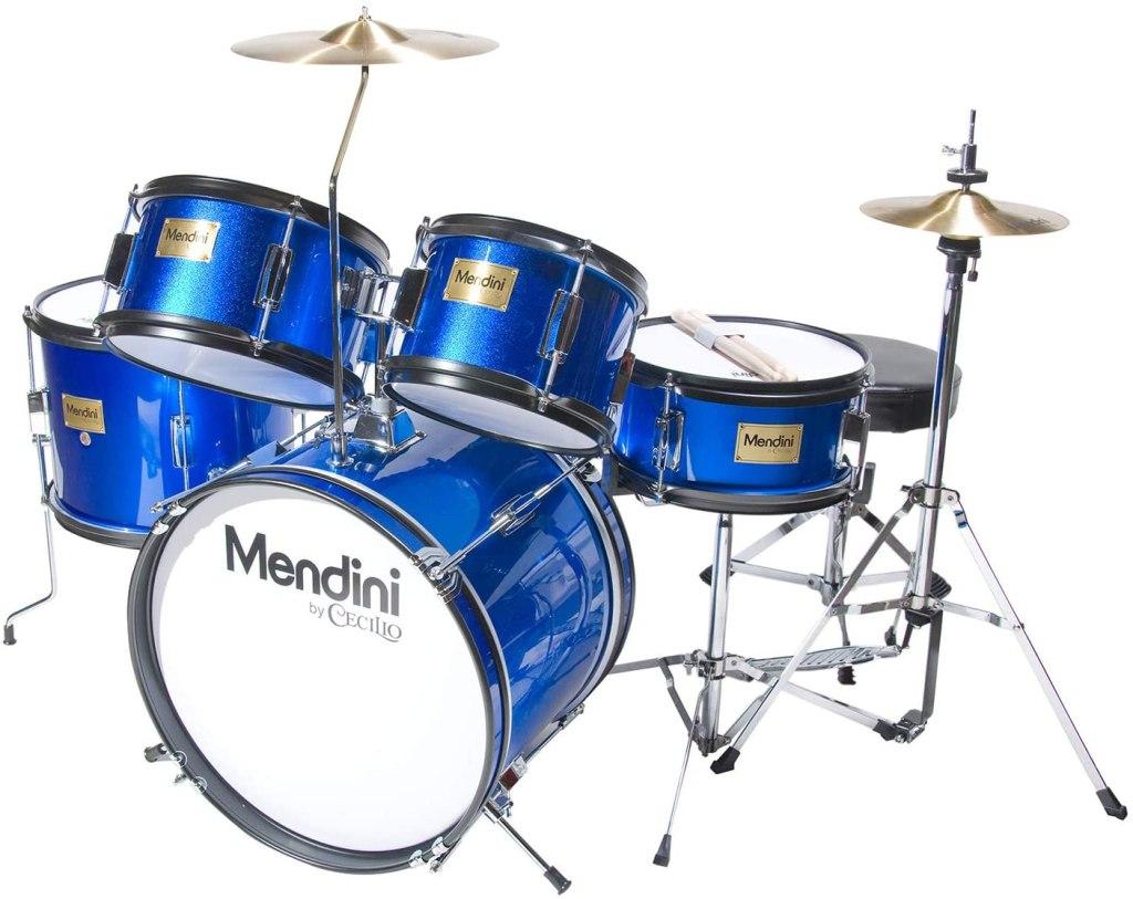 mendini 5-piece junior drum set