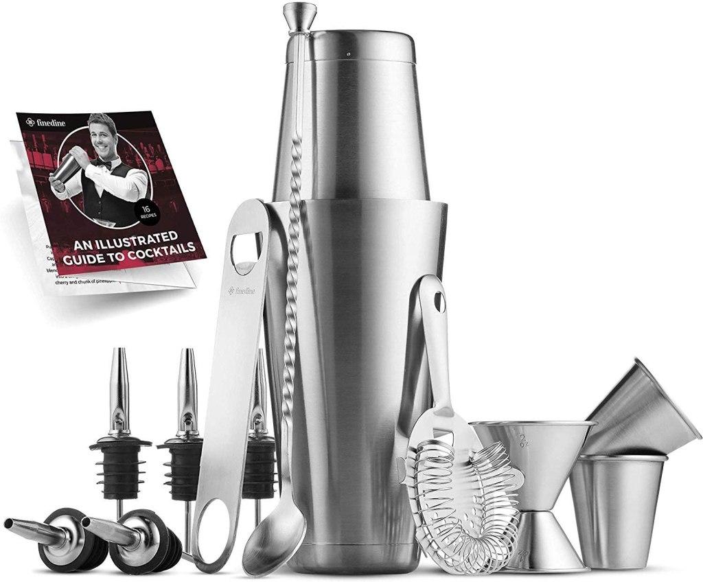 premium cocktail shaker bar kit