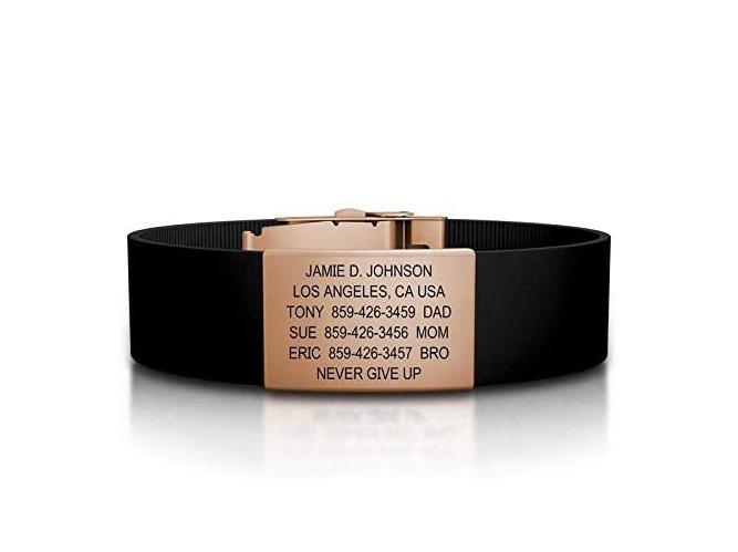 Best Running Accessories - Road ID Bracelet