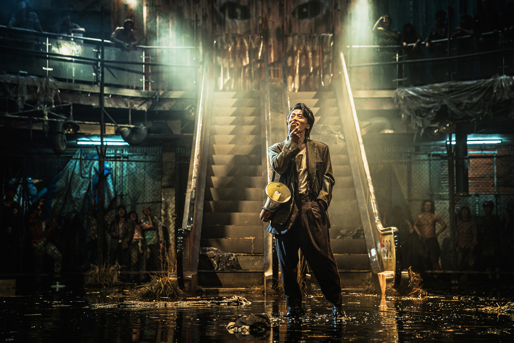 Train to Busan Peninsula - a zombie packed Mad Max homage......